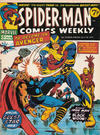 Cover for Spider-Man Comics Weekly (Marvel UK, 1973 series) #75