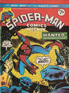 Cover for Spider-Man Comics Weekly (Marvel UK, 1973 series) #81
