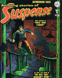 Cover Thumbnail for Amazing Stories of Suspense (Alan Class, 1963 series) #137