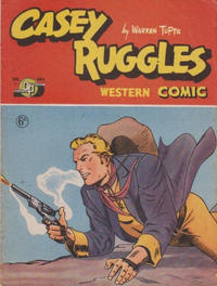 Cover Thumbnail for Casey Ruggles Western Comic (Donald F. Peters, 1951 series) #4