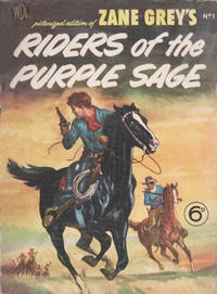 Cover Thumbnail for Zane Grey's Stories of the West (World Distributors, 1953 series) #1
