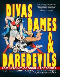 Cover Thumbnail for Divas, Dames & Daredevils (Exterminating Angel Press, 2013 series)