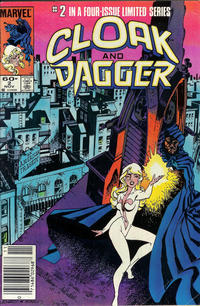 Cover Thumbnail for Cloak and Dagger (Marvel, 1983 series) #2 [Newsstand Edition]