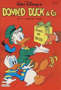 Cover Thumbnail for Donald Duck & Co (Hjemmet / Egmont, 1948 series) #12/1981