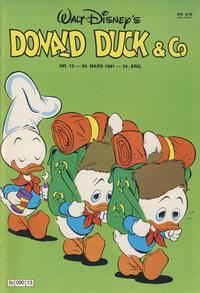 Cover Thumbnail for Donald Duck & Co (Hjemmet / Egmont, 1948 series) #13/1981