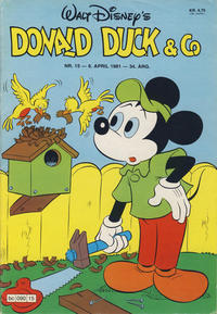 Cover Thumbnail for Donald Duck & Co (Hjemmet / Egmont, 1948 series) #15/1981