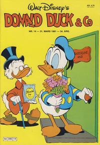 Cover Thumbnail for Donald Duck & Co (Hjemmet / Egmont, 1948 series) #14/1981