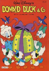 Cover Thumbnail for Donald Duck & Co (Hjemmet / Egmont, 1948 series) #16/1981