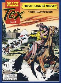 Cover Thumbnail for Maxi Tex (Hjemmet / Egmont, 2008 series) #31
