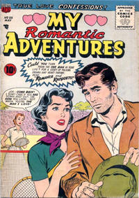 Cover Thumbnail for Romantic Adventures (American Comics Group, 1949 series) #55