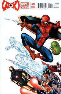 Cover Thumbnail for A+X (Marvel, 2012 series) #1 [Incentive Ed McGuinness Variant ]