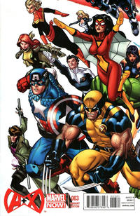 Cover Thumbnail for A+X (Marvel, 2012 series) #3 [Variant Cover by Ed McGuinness]