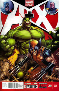 Cover Thumbnail for A+X (Marvel, 2012 series) #1 [Newsstand]