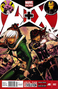 Cover Thumbnail for A+X (Marvel, 2012 series) #2 [Newsstand]