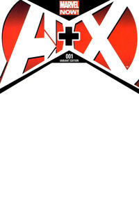 Cover Thumbnail for A+X (Marvel, 2012 series) #1 [Blank Variant]
