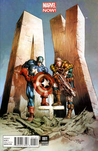 Cover Thumbnail for A+X (Marvel, 2012 series) #1 [Variant Cover by Mike Deodato]