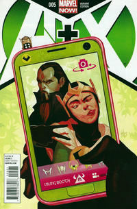 Cover Thumbnail for A+X (Marvel, 2012 series) #5 [Variant Cover by Mike Del Mundo]
