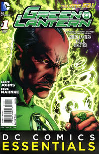 Cover Thumbnail for DC Comics Essentials: Green Lantern (DC, 2014 series) #1