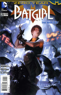 Cover Thumbnail for Batgirl (DC, 2011 series) #25 [Direct Sales]