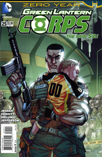 Cover Thumbnail for Green Lantern Corps (DC, 2011 series) #25 [Direct Sales]