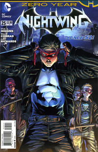 Cover Thumbnail for Nightwing (DC, 2011 series) #25 [Direct Sales]