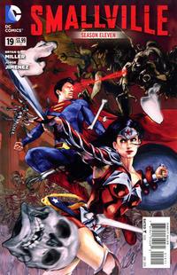 Cover Thumbnail for Smallville Season 11 (DC, 2012 series) #19