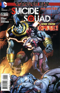 Cover Thumbnail for Suicide Squad (DC, 2011 series) #25