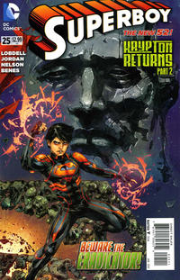 Cover Thumbnail for Superboy (DC, 2011 series) #25