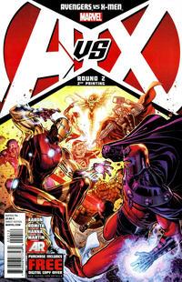 Cover Thumbnail for Avengers vs. X-Men (Marvel, 2012 series) #2 [2nd Printing Variant]