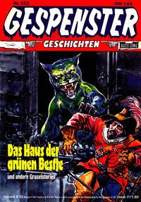 Cover Thumbnail for Gespenster Geschichten (Bastei Verlag, 1974 series) #322