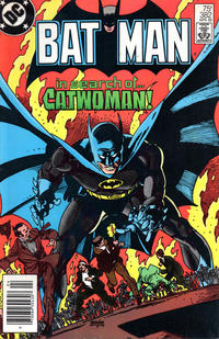 Cover for Batman (DC, 1940 series) #382 [Direct Sales]