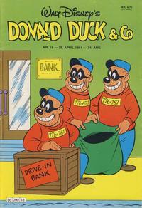 Cover Thumbnail for Donald Duck & Co (Hjemmet / Egmont, 1948 series) #18/1981