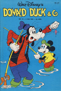 Cover Thumbnail for Donald Duck & Co (Hjemmet / Egmont, 1948 series) #19/1981