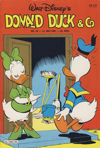 Cover Thumbnail for Donald Duck & Co (Hjemmet / Egmont, 1948 series) #20/1981
