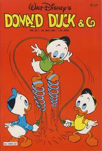 Cover Thumbnail for Donald Duck & Co (Hjemmet / Egmont, 1948 series) #22/1981