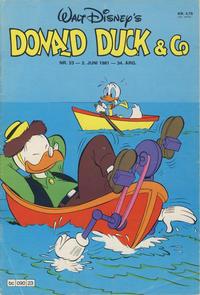 Cover Thumbnail for Donald Duck & Co (Hjemmet / Egmont, 1948 series) #23/1981