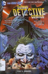 Cover Thumbnail for Batman - Detective Comics (DC, 2013 series) #1 - Faces of Death