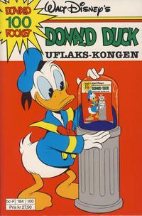 Cover Thumbnail for Donald Pocket (Hjemmet / Egmont, 1968 series) #100 - Donald Duck Uflaks-kongen [1. opplag]