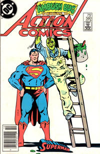 Cover Thumbnail for Action Comics (DC, 1938 series) #560 [Newsstand]