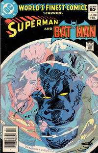 Cover Thumbnail for World's Finest Comics (DC, 1941 series) #288 [Newsstand]