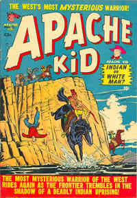 Cover Thumbnail for Apache Kid (Superior Publishers Limited, 1951 series) #5