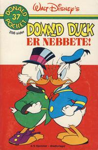 Cover Thumbnail for Donald Pocket (Hjemmet / Egmont, 1968 series) #37 - Donald Duck er nebbete! [1. opplag]