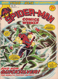 Cover Thumbnail for Spider-Man Comics Weekly (Marvel UK, 1973 series) #83