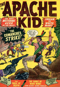 Cover Thumbnail for Apache Kid (Superior Publishers Limited, 1951 series) #53 [1]