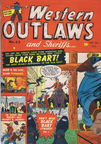 Cover Thumbnail for Western Outlaws and Sheriffs (Bell Features, 1950 series) #65