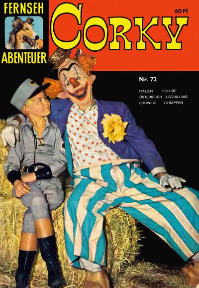 Cover for Fernseh Abenteuer (Tessloff, 1960 series) #72