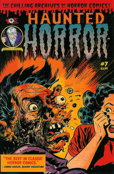 Cover for Haunted Horror (IDW, 2012 series) #7