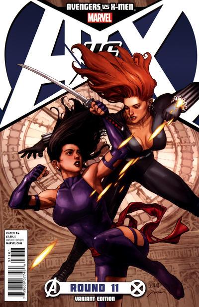 Cover for Avengers vs. X-Men (Marvel, 2012 series) #11