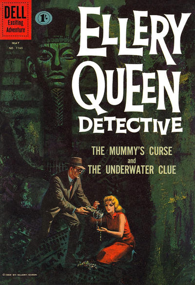 Cover for Four Color (Dell, 1942 series) #1165 - Ellery Queen