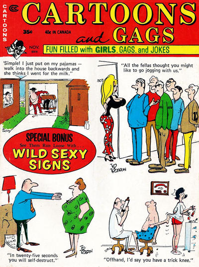 Cover for Cartoons and Gags (Marvel, 1959 series) #v18#5